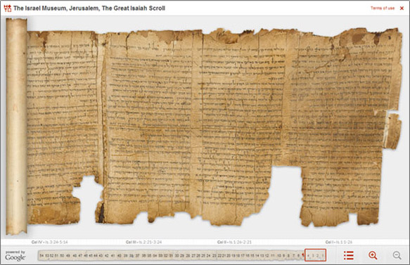 The Great Isaiah Scroll from the DSS